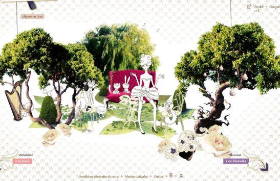 Capture écran du site www.lesgourmandisesdelolitalempicka.com