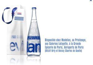 capture d'écran du site www.evianjeanpaulgaultier.com