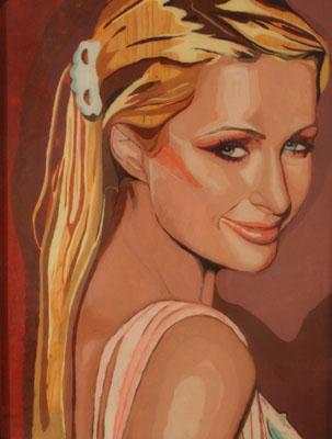 Paris Hilton selon Jason Kronenwald