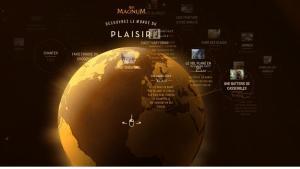 Page d'accueil du site web MyMagnum.fr