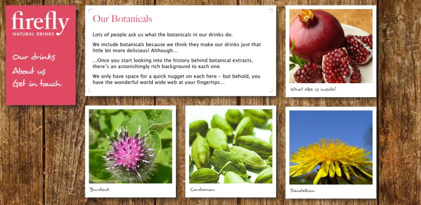 FireFly's botanicals