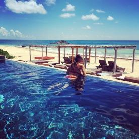 Amansala Beach pool
